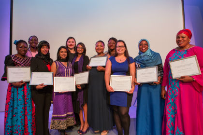 2015 L'Oréal-UNESCO For Women in Science Sub-Saharan Africa fellows