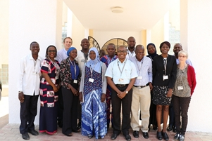 MRCG's Malaria Researchers during the conference