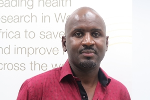 Dr Abdullahi Ahmad, Research Clinician, Disease Control and Elimination Theme