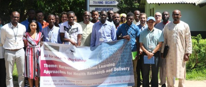 MRCG at LSHTM Hosts First Artificial Intelligence for Health Workshop