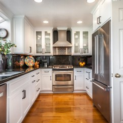 Kitchen Cabinet Hardware How Much Is A Remodel Ideas You Can Try Matching Your Handles With Faucet For Uniform Look Check Out This Gold And