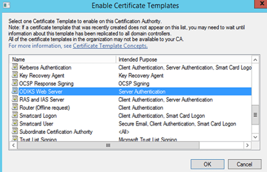 Deploying web server certificate for site systems that run iis.