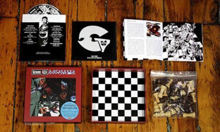 "GZA Liquid Swords Album Re-Issue ""The Chess Box"" (2 Audio CD's & Chess Set) Updated"