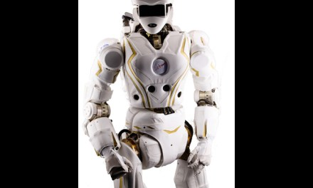 Meet Valkyrie: NASA's Superhero-Like Walking Robot Unmasked