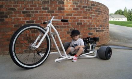 Motorized Big Wheel Drift Trike speaks to your inner child