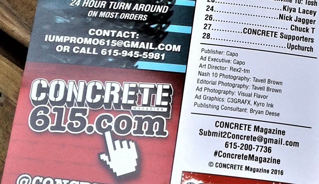 Nashville's Concrete 615 Magazine Editor In Chief Interview