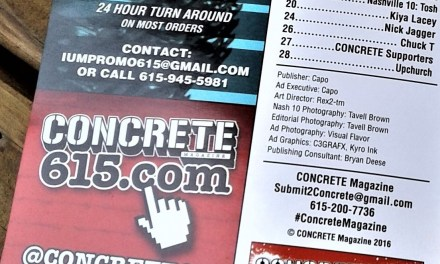 Nashville's Concrete 615 Magazine Editor In Chief Interview