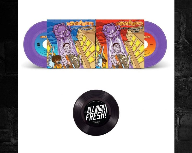 MassInfluence Analyze / All Out + Stro Elliot Remix + Bonus Instrumentals