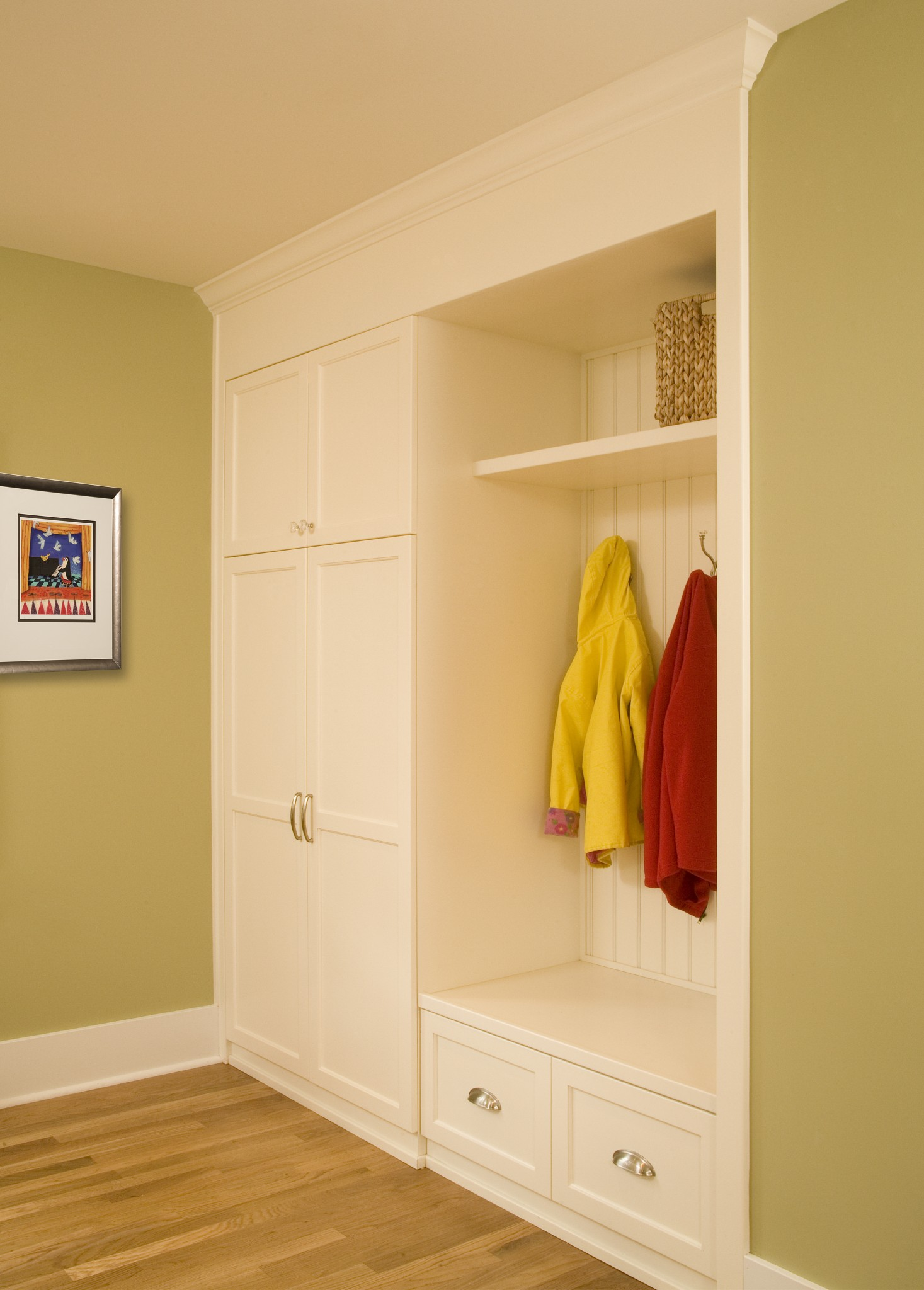 Hall Closet | M.R. Construction | Tacoma, WA