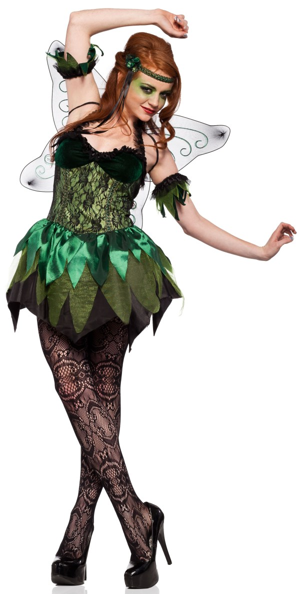 Sexy Green Absinthe Fairy Gothic Costume - . Costumes