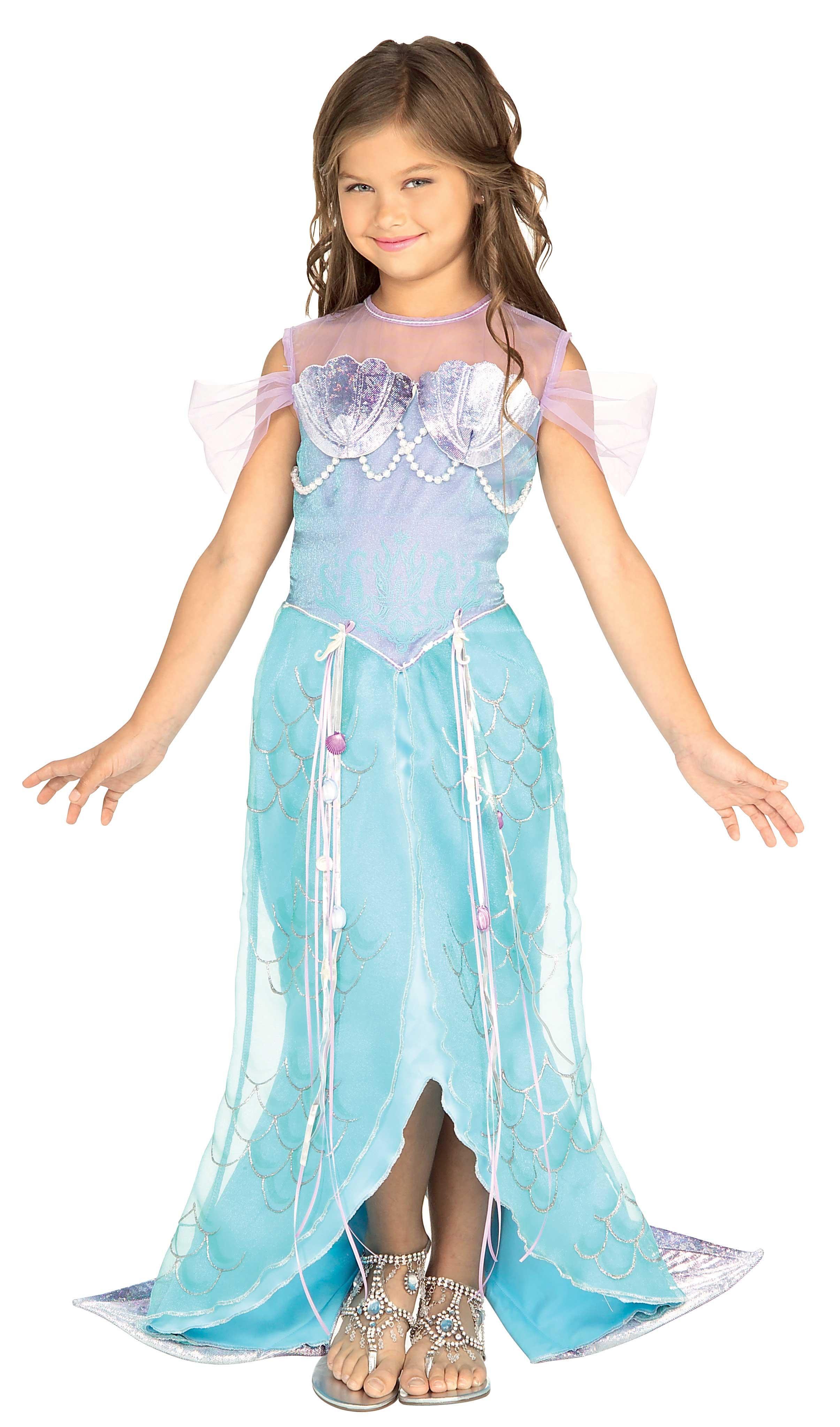 Sea Shell Cutie Mermaid Kids Costume