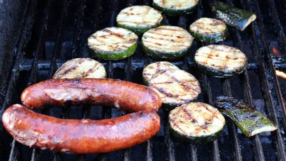 Kielbasa_and_Grilled_zuchini