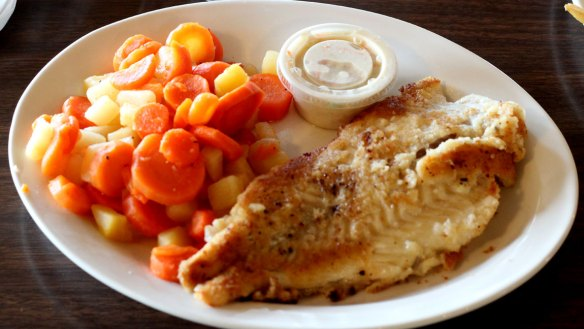 Fresh Haddock with turnips and carrots