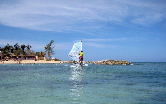 Windsurfing Lessons Hyatt Zilara Montego Bay Jamaica