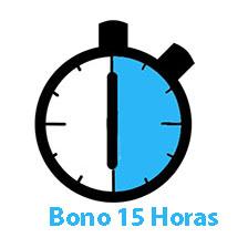 Bono 15 horas mantenimiento
