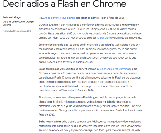 Tu web esta hecha en Flash