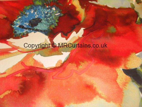 Jardin By Prestigious Textiles Curtain Fabric Poppy £64 99
