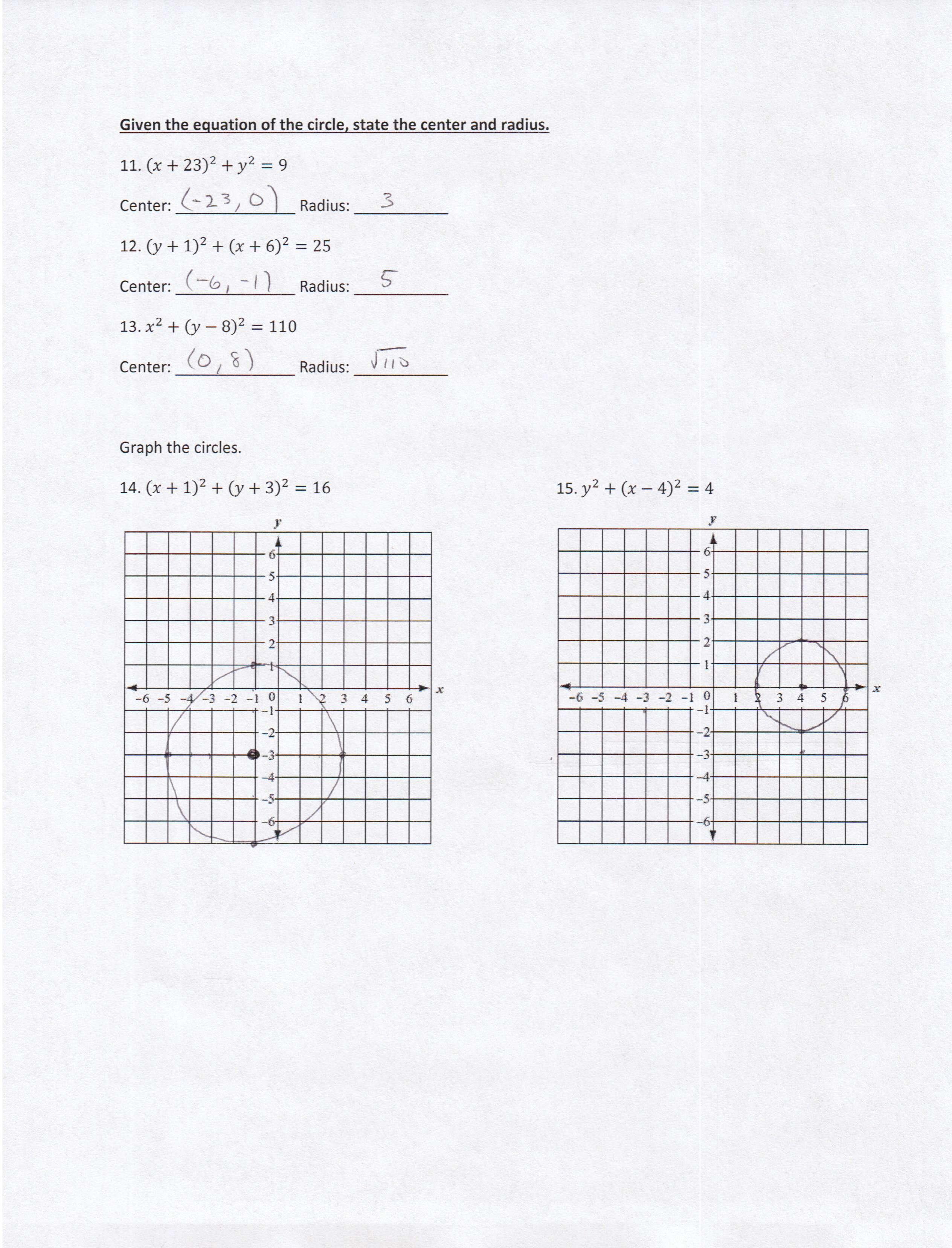 Algebra 2 PDFs — Mr. Deibel's Class