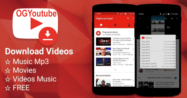 FREE DOWNLOAD LATEST OG YOU TUBE APK APP FOR YOUR ANDROID