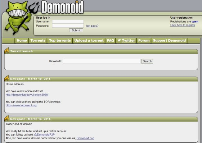TORRENT PROXY/MIRROR SITES TO UNBLOCK DEMONOID TORRENT