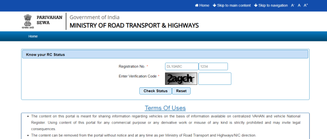 CHECK WHO IS THE OWNER OF ANY VEHICLE IN INDIA BY ITS REGISTRATION NUMBER