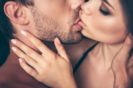 French kiss involved complicated actions