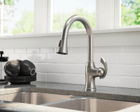 772-BN Brushed Nickel Pull Down Kitchen Faucet