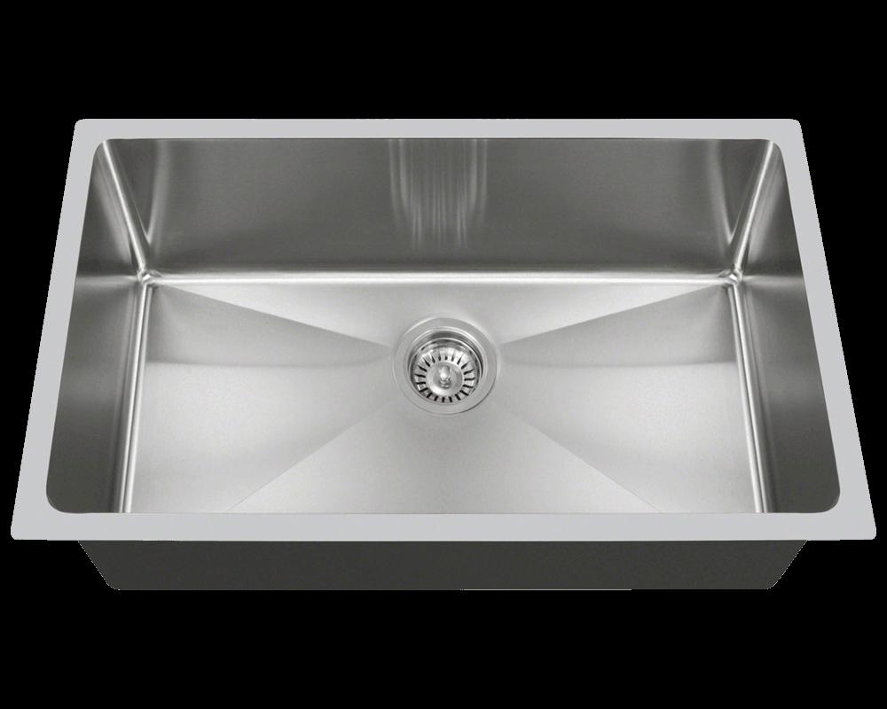 3120S Undermount Single bowl 34 Radius Sink