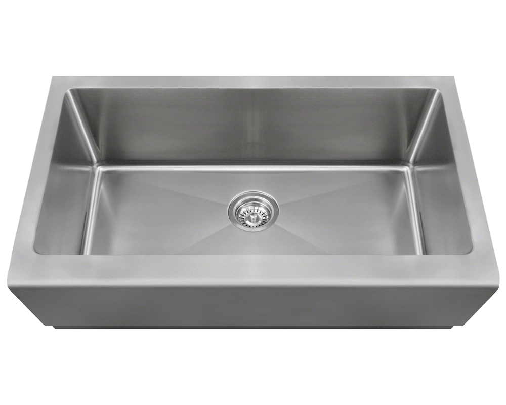 single bowl stainless kitchen sink ways to conserve water in the steel sinks and faucets for kitchens baths 405 apron 5 00 4 reviews