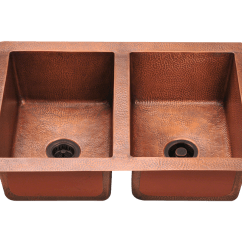 Copper Sink Kitchen Cutting Gloves For 902 Double Equal Bowl