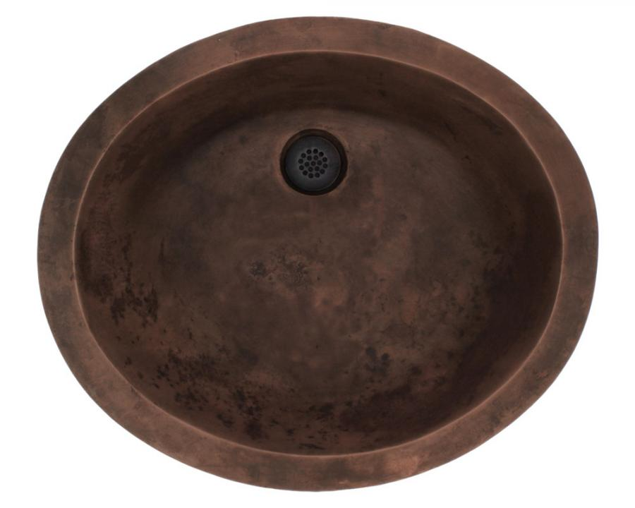 950 Single Bowl Bronze Bathroom Sink