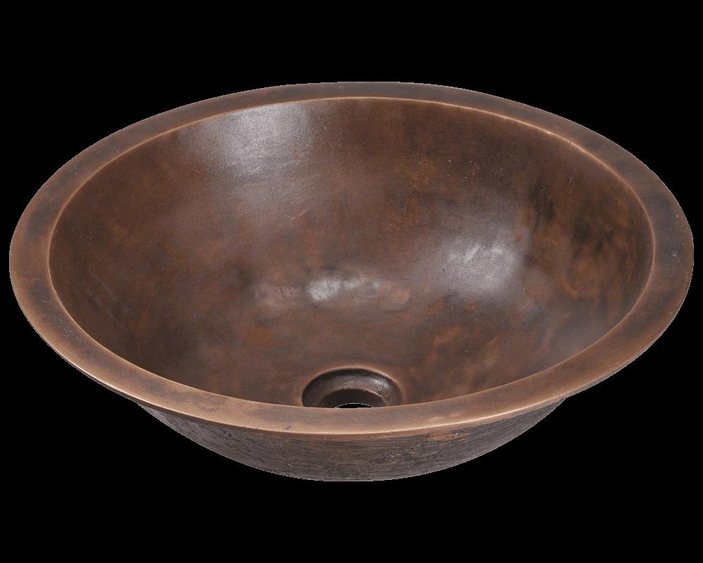 951 Single Bowl Bronze Bathroom Sink