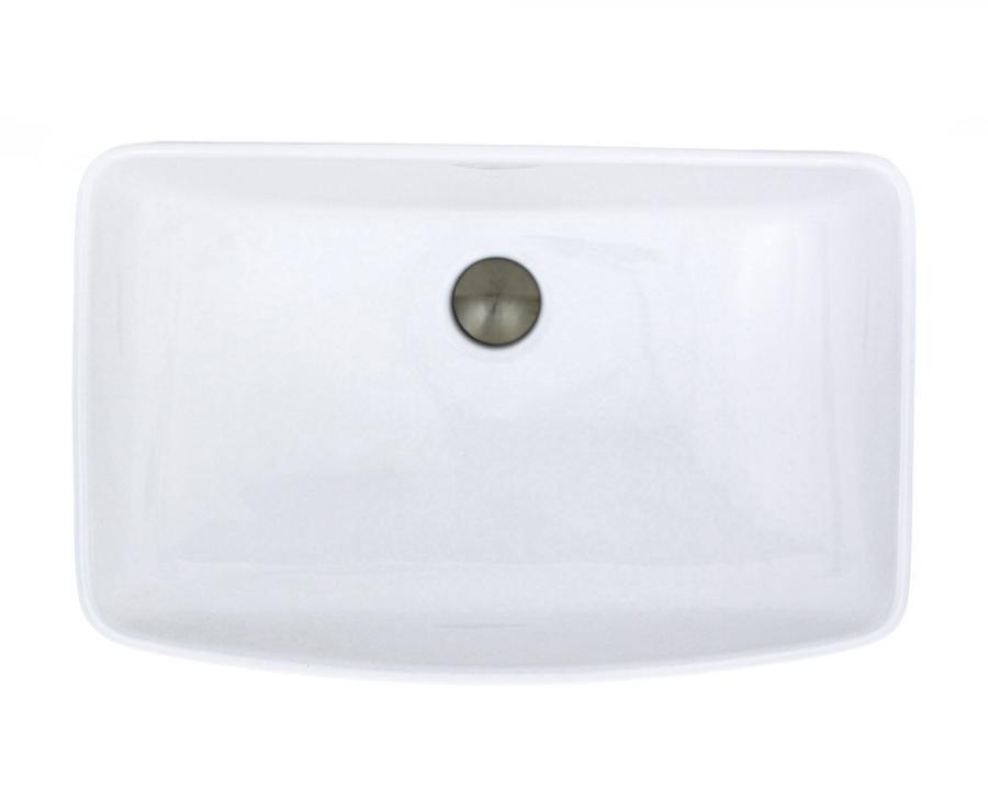 V350 White Porcelain Vessel Sink