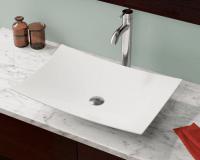 V360-White Porcelain Vessel Sink