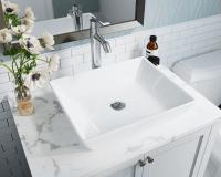 V370-White Porcelain Vessel Sink