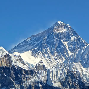The Indian Subcontinent the Himalayas and Mt Everest