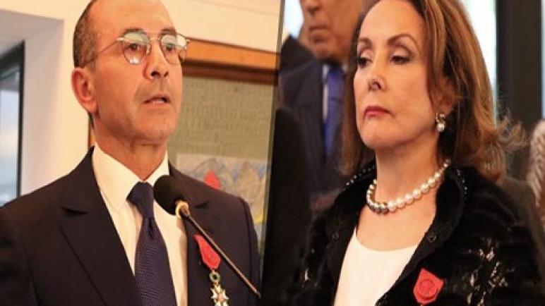 توشيح شخصيتين مغربيتين بوسام جوقة الشرف للجمهورية الفرنسية