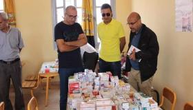 جمعية بسمة ببلجيكا توزع الاغذية والكمامات على المحتاجين