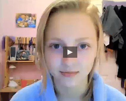 aScreenshot 2 - 6 anni e mezzo di selfie per raccontare la sua malattia mentale (video)