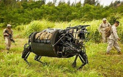 rob - US Marines testato il mulo robot