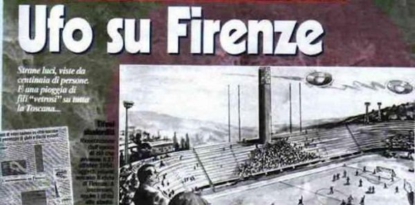 pist 2 - Nel 1954 Ufo in Fiorentina-Pistoiese: partita sospesa per avvistamento di massa(video)