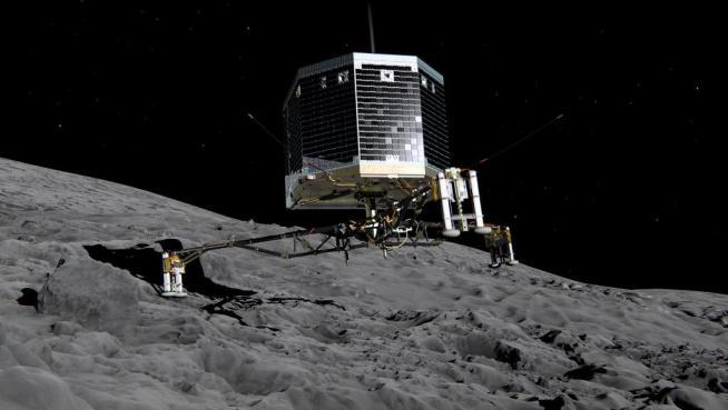C 4 articolo 2078802  ImageGallery  imageGalleryItem 59 image - La sonda Rosetta e atterrata: ecco le prime immagini della cometa