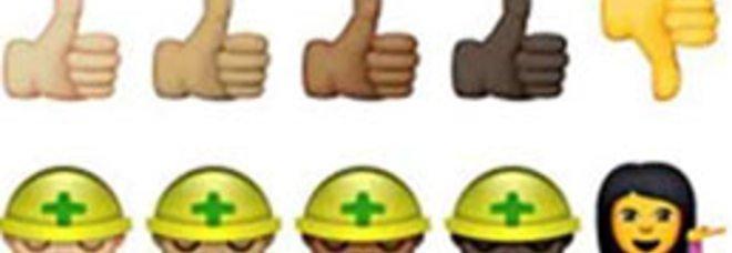 """20150225 emoticon - Emoji, arriva la svolta """"politically correct"""": le """"faccine"""" diventano multiculturali"""