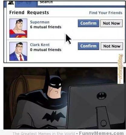 baffi - Se i personaggi dei fumetti fossero Social
