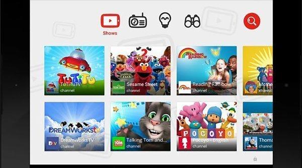 lg smart tv t2 - Youtube crea un app per i bambini