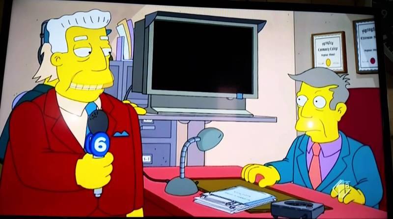 maxresdefault - I Simpson insultano il parlamento italiano