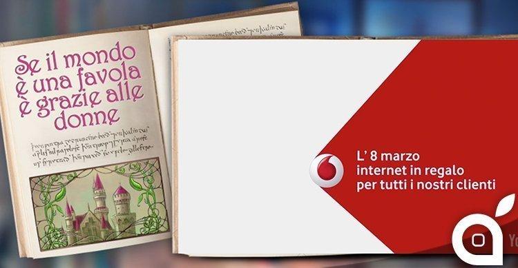 vodafone internet gratis - Vodafone regala internet per l'8 marzo 2015