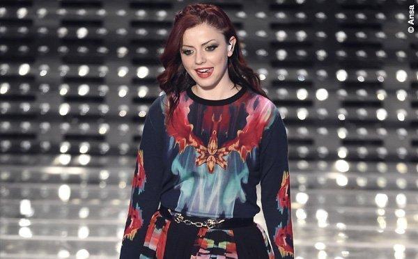 """Sanremo 2015 5 serata Annalisa Scarrone abito Roberto Cavalli 2 - Nuovo video per Annalisa Scarrone sul singolo """"Vincerò"""""""