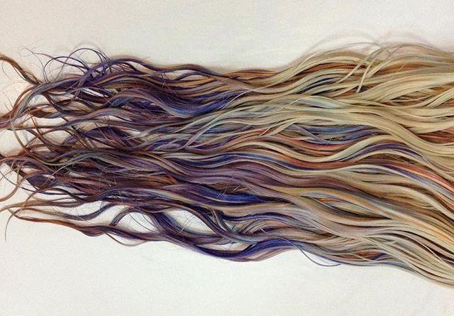 218 - fluid hair painting: capelli da sirena, ecco la tecnica.