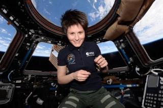AstroSamantha 320x213 - Samantha Cristoforetti, addio Aeronautica Militare